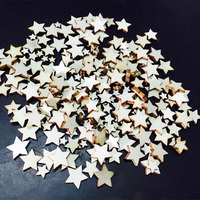 YHYS Wooden Embellishments for Crafts Rustic Wedding Decoration Buttons Crafting Sewing DIY(100pcs)