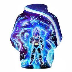 Hot Anime Dragon Ball Hoodies Men Women 3D Sweatshirts Super Saiya Vegeta Kids Goku Hoodie Male Casual Coat Cartoon Boys Outwea 2