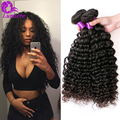 7A Malaysian Deep Wave Virgin Hair Bundle Deals 4PCS Malaysian Curly Hair Human Hair Extensions Malaysian Virgin Hair Deep Wave