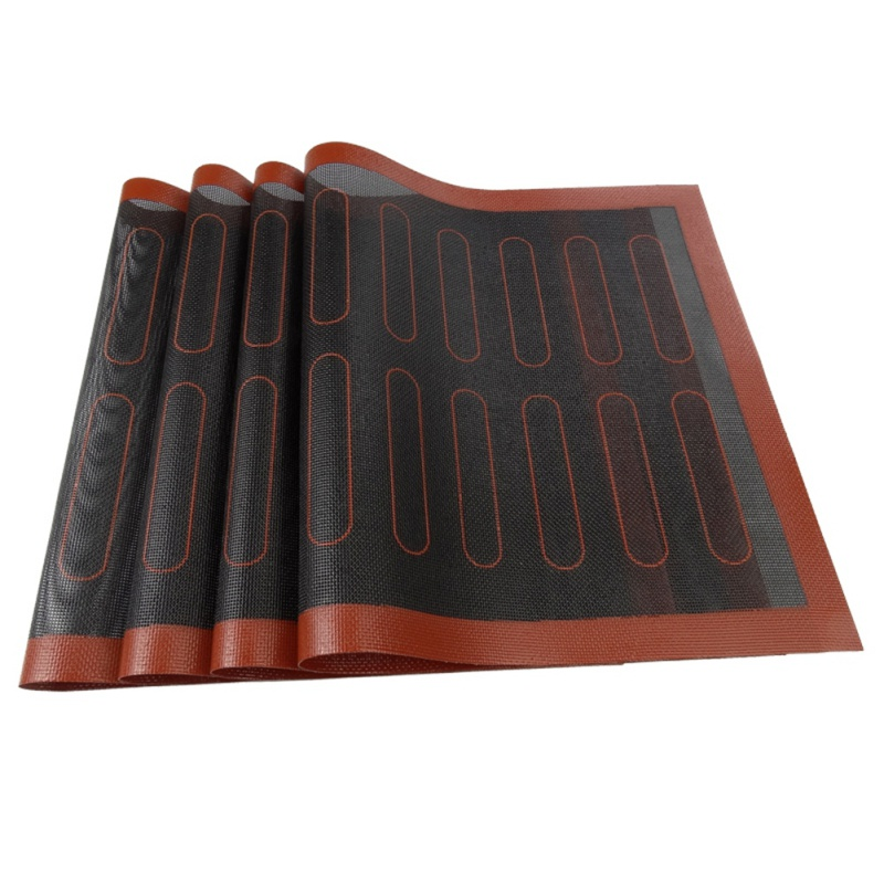 Antiaderente esteira de cozimento respirável macaroon esteira de silicone casa jardim cozinha jantar alta temperatura