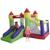 Gorila inflable de la diapositiva yard envío libre lindo colorido juguete hinchable de aire habitación combo infancia feliz para los niños del partido