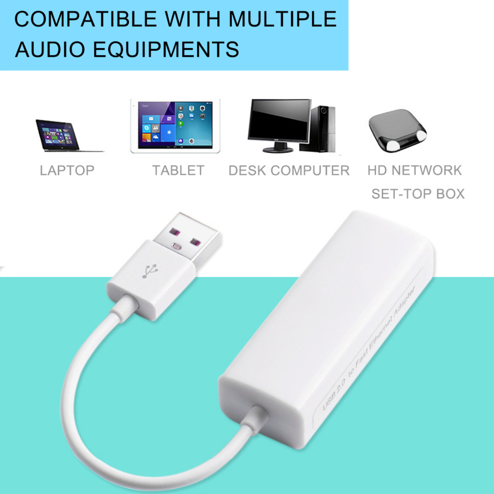 NOYOKERE  Mini USB 2.0 Ethernet adapter USB to RJ45 Lan Network Card for Windows 10/8/7/XP(China)