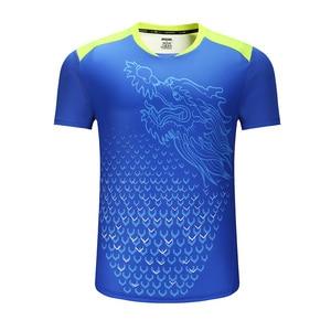 Image 2 - Nuevo Dragón de CHINA camisetas de tenis de mesa hombres, camisetas de ping pong, camisetas de tenis de mesa chinas, ropa de tenis de mesa camisas deportivas