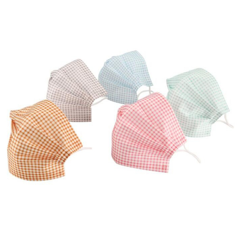 1pc 5pcs Disposable Earloop Face Mouth Masks 3 Layers Anti-Dust For Surgical Medical Salon