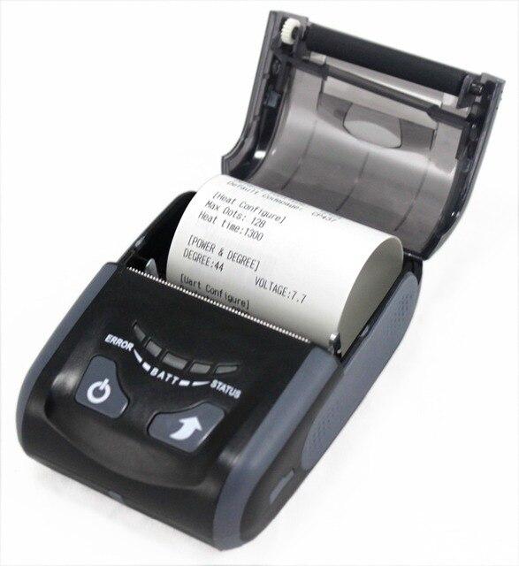LS200BU 2 Дюймов 58 мм Портативный Мини-Принтер, Мобильный Термопринтер Bluetooth Принтеры Штрих-кодов с USB для IOS и Android