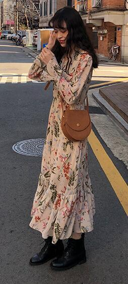 Women Summer Long Floral...