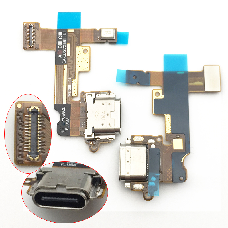 New Dock Connector Charger Flex Cable For LG G6 USB Charging Port Flex Cable Repair Parts