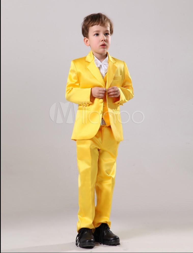 68309599833a Handsome cute Boys Formal Occasion Attire Classic Design Kid Dress ...
