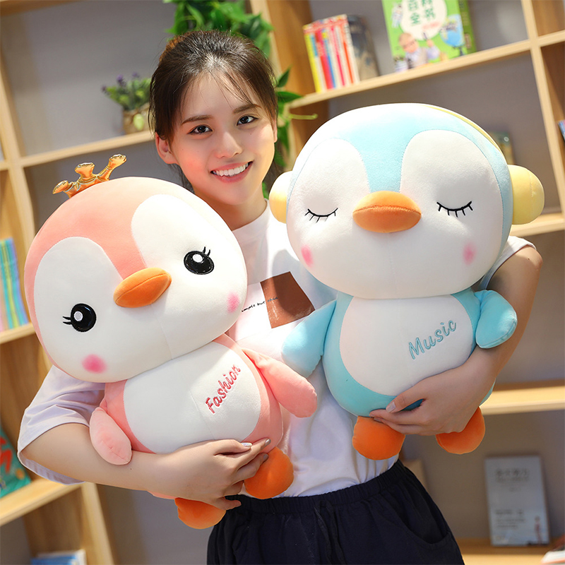 25-65CM Soft Big Penguin Plush Toys Plush Cartoon Animal Doll Fashion Toy For Kids Baby Lovely Girls Christmas Birthday Gift