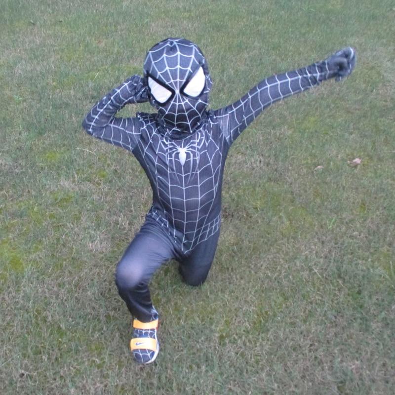 ΝΕΟ Μαύρο Spiderman Αγόρια Venom Κοστούμια - Καρναβάλι κοστούμια - Φωτογραφία 3
