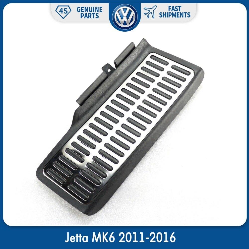 Acier inoxydable Auto Sport Morts Pad Pied Reste Pédale Pad pour VW Volkswagen Jetta MK6 2011-2016