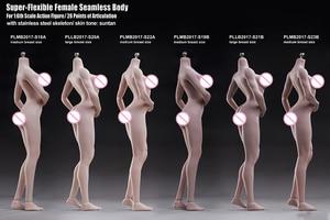 Image 2 - تبلو 1/6 امرأة تمثال الجسم شاحب Suntan الجلد سلس نموذج لجسم الإناث مجموعات لمدة 12 بوصة عمل الشكل