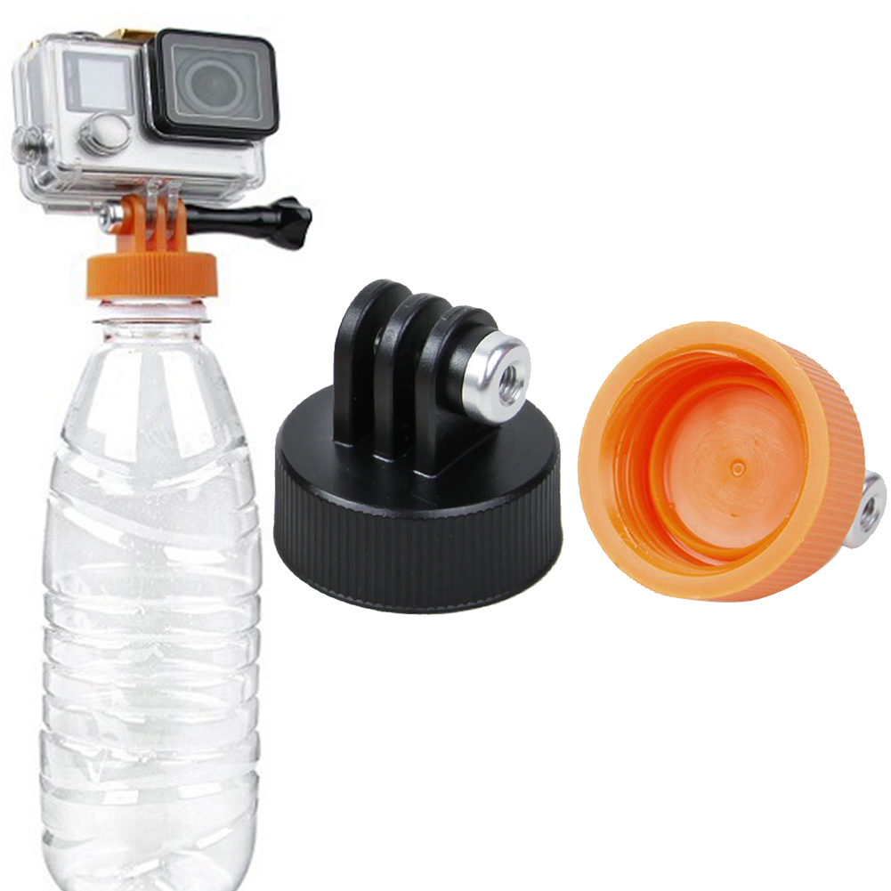 Tools Tripod Bottle Mount Adapter DIY Water Cap Diving Surfing Practical Attachment Connector Universal Camera Monopod For GoPro