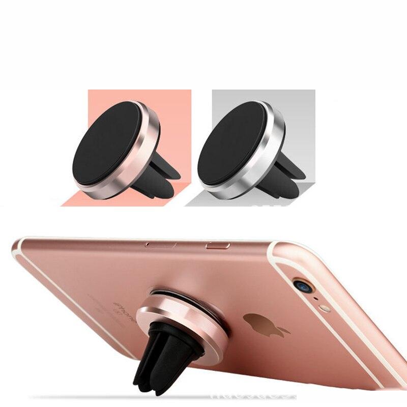 Автомобильный держатель мини Air Vent Магнитная мобильного телефона держатель универсальный для Iphone 5 6 6 S 7 GPS кронштейн Стенд Поддержка