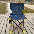 Cadeiras De Pesca Cadeira de Praia Cadeiras Dobráveis ao ar livre Portátil