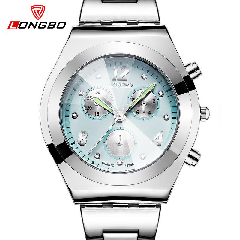 Prix pour LONGBO Mode montre femmes bracelet à quartz montres dames horloge marque de luxe de quartz-montre relogio feminino reloj mujer 2016