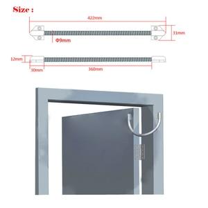 Image 5 - 5YOA pętla drzwiowa elektryczny odsłonięty montaż rękaw ochronny dostęp przewód sterowniczy linia do blokady zamka drzwi ze stali nierdzewnej