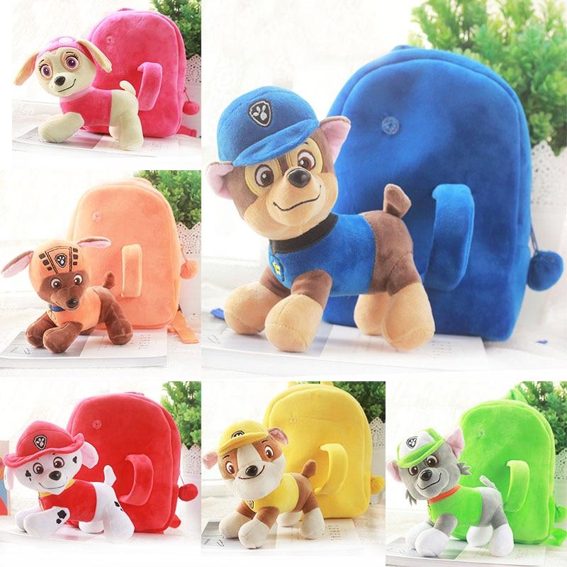 Image 2 - Paw Patrol Dog Stuffed & Plush Doll bag Anime Kids Toys Action Figure Plush Doll Model Stuffed and Plush Animals Toy giftMovies & TV   -