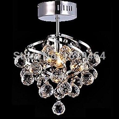 LED 5W E27 K9  K9 Crystal Pendant Lamp for Living Room Crystal Chandeliers for Dining-room 110-240V LED 5W E27 K9  K9 Crystal Pendant Lamp for Living Room Crystal Chandeliers for Dining-room 110-240V
