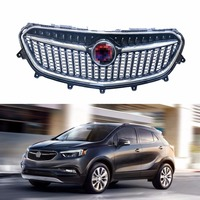 1 PC Front Upper Grille Chrome New for Buick Encore 2017 2018|Racing Grills| |  -