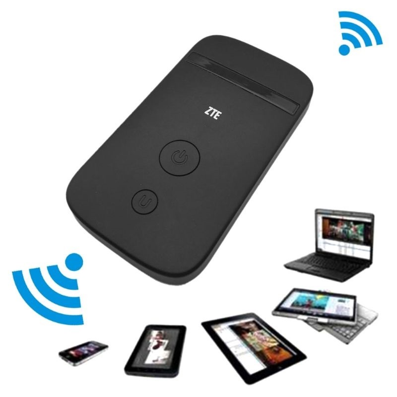 unlocked zte mf920 4g lte mobile wifi pocket mifi router. Black Bedroom Furniture Sets. Home Design Ideas