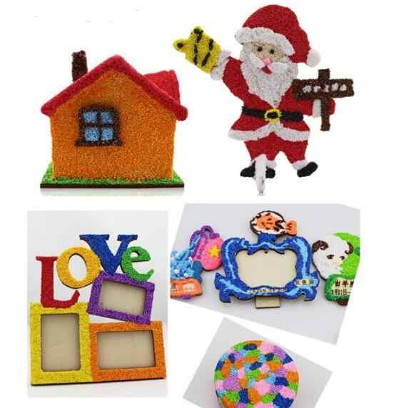 8 color/lot New Handmade Soft Polymer Foam Modelling Clay Set Snow Pearl Mud Playdough Educational Plasticine toy