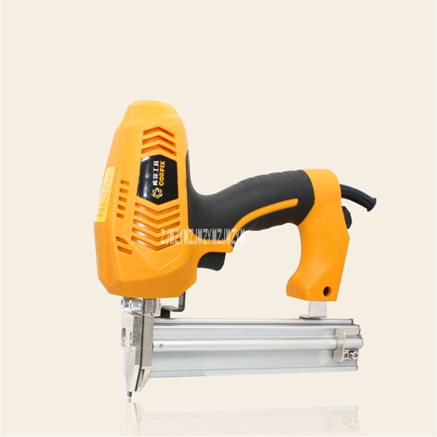 New Dual-use Electric Household Woodworking Straight Nails and U-type Nail Gun With 500 Nails 220-240V 50HZ 1800-2350W 45PCS/min дутики spur spur sp169awcng12