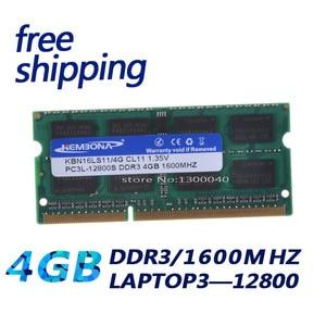 Image 3 - KEMBONA, garantía de por vida Módulo de Memoria Ram para ordenador portátil, DDR3L, 1,35 V, 1600 MHz, DDR3, PC3 12800, 4GB, SO DIMM