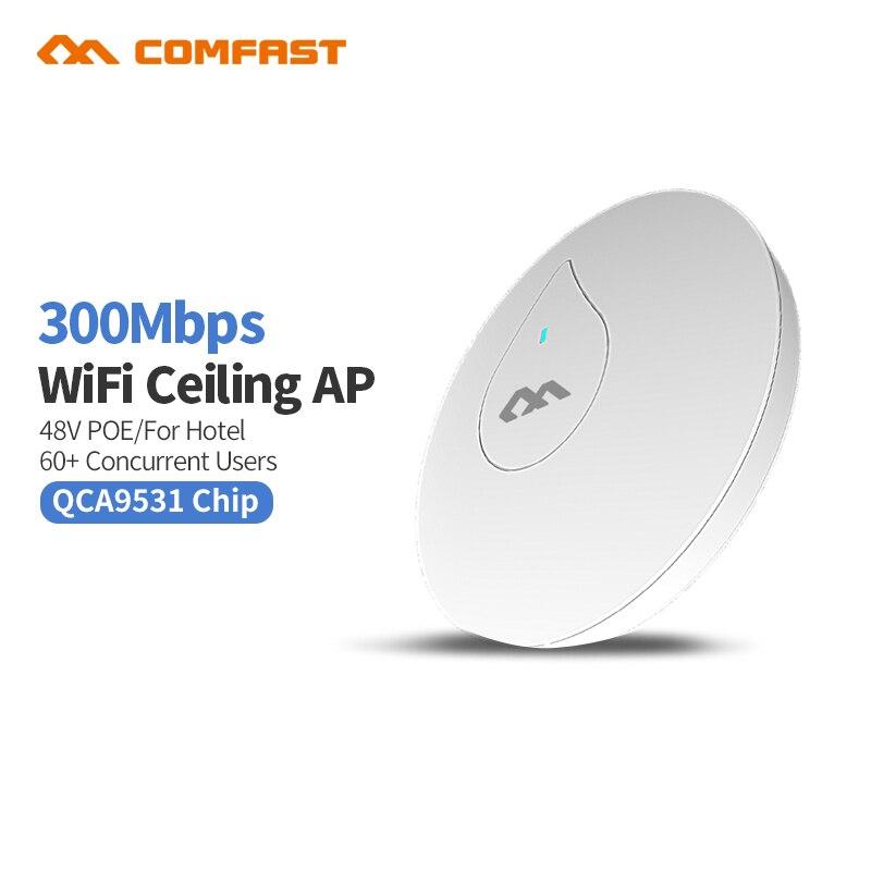 500mW Comfast 300Mbps 2.4Ghz indoor door Access Point 6dBi WI-FI Antenna wireless bridge Home WIFI CPE Nanostation wifI CF-E350N