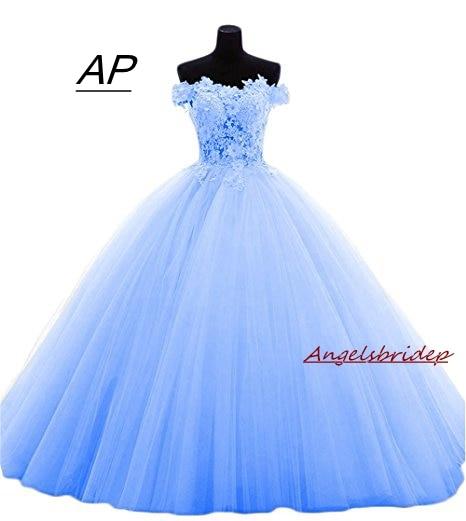 ANGELSBRIDEP Boat-Neck Quinceanera Dresses 15 Party Sexy Lace Applique Court Train Luxury 2019 Vestido Debutante Gowns Plus Size