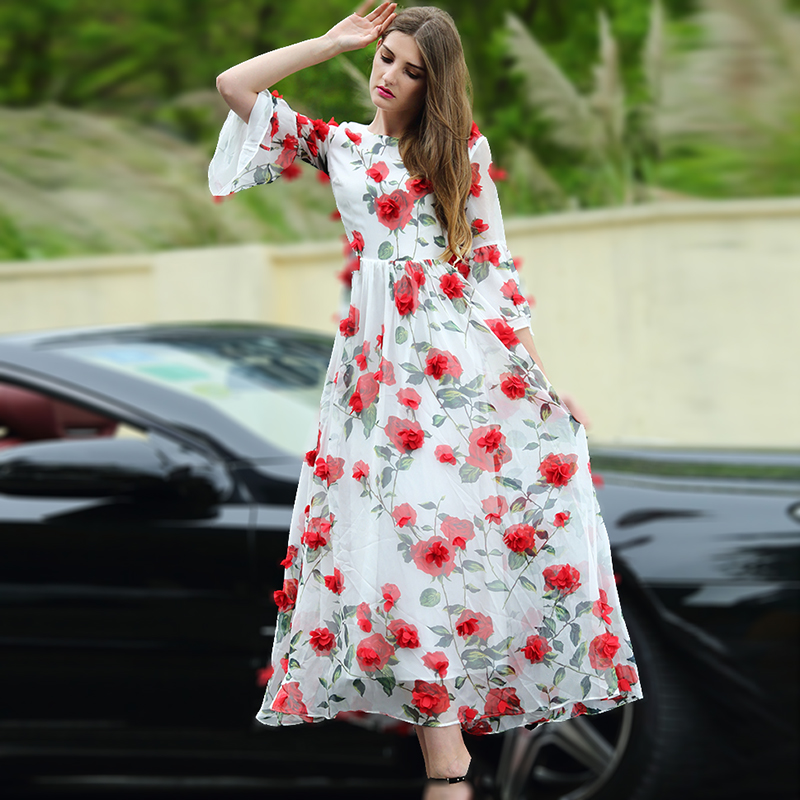 Online Buy Wholesale romantic summer dresses from China romantic ...