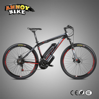 Electric Power Bicycle 21 Speed Disc Brakes 26 27.5 Inch 38V10Ah Lithium Battery Rear Drive Aluminum Alloy Frame Mountain Bike
