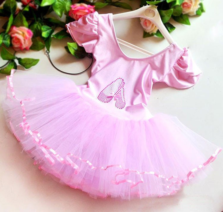 New Girls Ballet Dress For Children Girl Dance Clothing Kids Ballet Costumes For Girls Dance Leotard Girl Stage Dancewear(China)