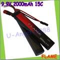 1 шт. 100% первоначально пламя 9.9 В 2000 mAh 15C LiFePO4 аккумулятор 2 сотовый M3E20B