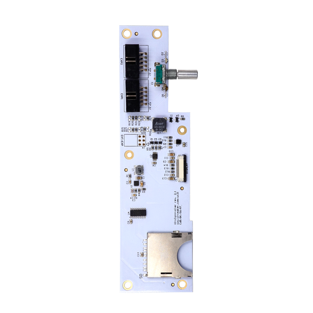 Ultimaker V214 Mainboard With Oled Screen Kit Um2 Smart Controller Electronic Pcb Circuit Board Maker Buy Motherboard Control Panel In 3d Printer Parts