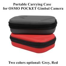 Portable Bag For OSMO Pocket Handheld Gimbal Camera Storage Bag Protective Carrying Case for DJI OSMO POCKET Transport Bag все цены