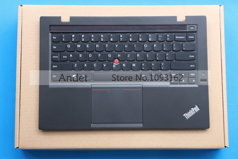 Refurbished Lenovo ThinkPad X1 Carbon Gen 2 MT: 20A7 20A8 Backlit US Keyboard + Palmrest Cover w/ Touchpad new original lenovo thinkpad x1 carbon 2014 gen 2nd 20a7 20a8 laptop keyboard palmrest bezel cover