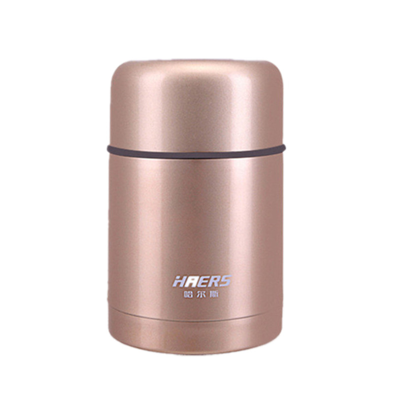Stainless Steel Insulation Cup Insulated Food Container Vacuum Lunch Box Kids Hot Water Bottle Lunch Box with Christmas Gift