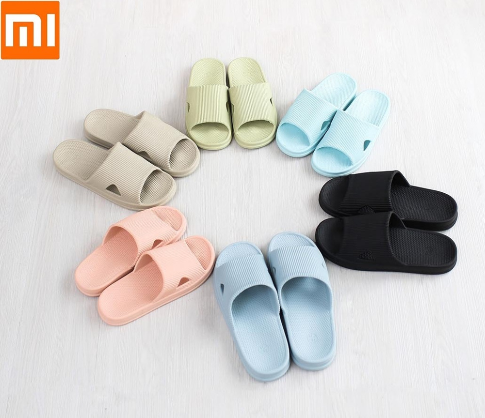 Xiaomi One cloud family men women bathroom slippers soft