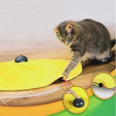 Cat Toy retail Undercover Mouse pet toy panic mouse cat's meow electronic toy for cat training tool