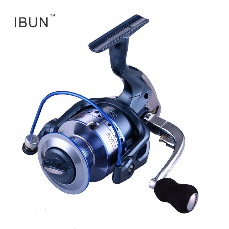 Ibun 14bb Рыбалка катушка металла прялка для Рыбалка левой и правой замены Алюминий фильеры катушки ...