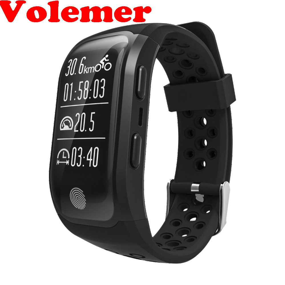 S908 GPS Sports Smartband IP68 Waterproof Smart Bracelet Heart Rate Monitor Fitness Tracker Bluetooth 4.2 for Android IOS Phone fs08 gps smart watch mtk2503 ip68 waterproof bluetooth 4 0 heart rate fitness tracker multi mode sports monitoring smartwatch