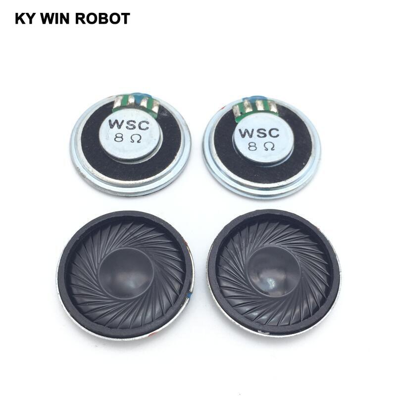 2 stücke Mini 8mm 8Ohm 8Ω 1 Watt Stereo Woofer Lautsprecher/_lk