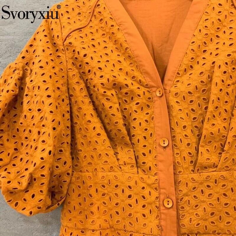 เย็บปักถักร้อย ฤดูร้อนชุดยาวชุดผู้หญิง Vestdios Stop118