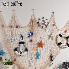 Mermaid Party Decorative Fish Net Under The Sea Party Pirate Decoration DIY Ornaments Hanging Summer Beach Kids Birthday Party fish net ocean pirate pirate beach theme party wedding kids birthday baby shower gender reveal decoration background photo both