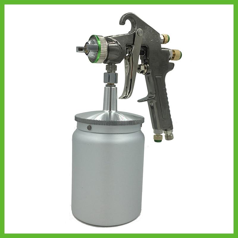 R71S new professional mini spray pain gun gravity feed type paint gun airbrush mirror painting gun for car painting machine tool