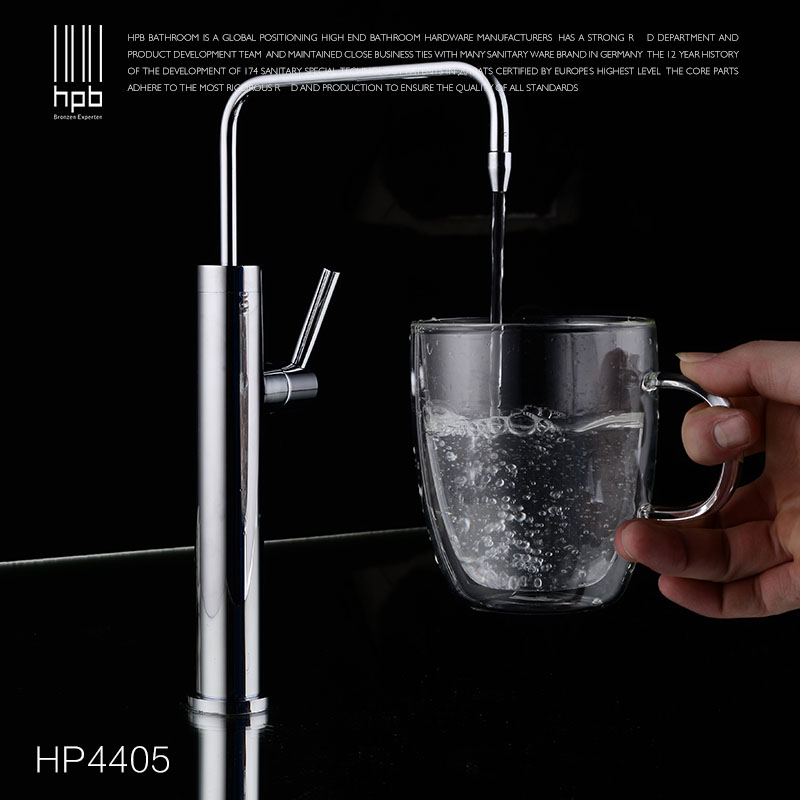 HPB Brass Pure Water Kitchen Faucet Drinking Water Filter Tap purified Spout Tap torneira robinet Fashion Design HP4405 free shipping soild brass lead free kitchen faucet mixer drinking water filter tap with filtered purified water spout wholesale
