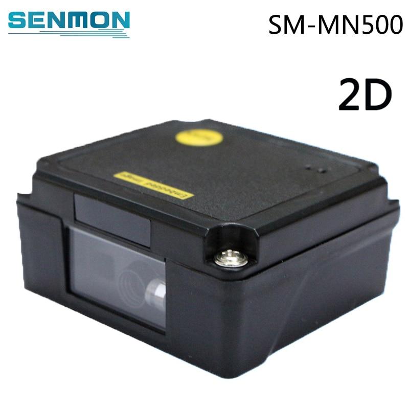 SM-MN500 USB RS232 Mini Tragbare Laser Embedded Bar code Reader 1D 2D Kamera Kiosk Bar code Scanner Modul