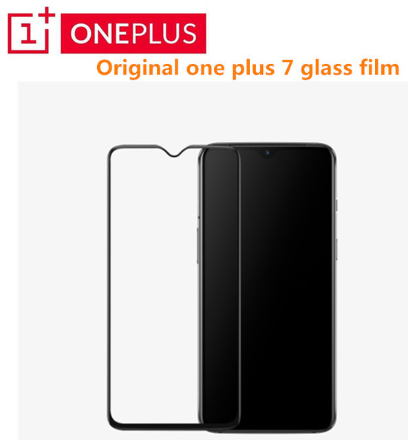 מקורי OnePlus 7 זכוכית 3D מלא כיסוי מזג זכוכית מסך Pprotector עבור אחד בתוספת 6T oneplus 7 מלא כיסוי מגן סרט