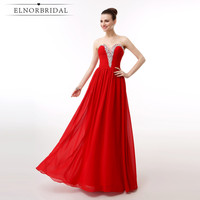 Cheap Red Evening Dresses For Women 2018 Ever Pretty Vestidos De Festa Sweetheart Beading Prom Gowns
